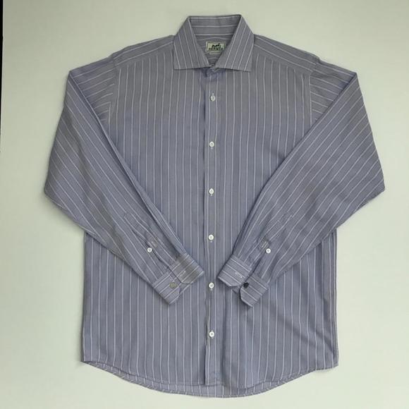 Hermes Other - Hermès Mens Lavender Stripe Shirt